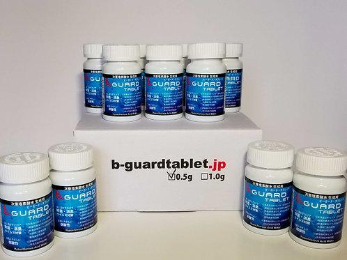 ビーガード次亜塩素酸水生成タブレット0.5g 30錠入ボトル