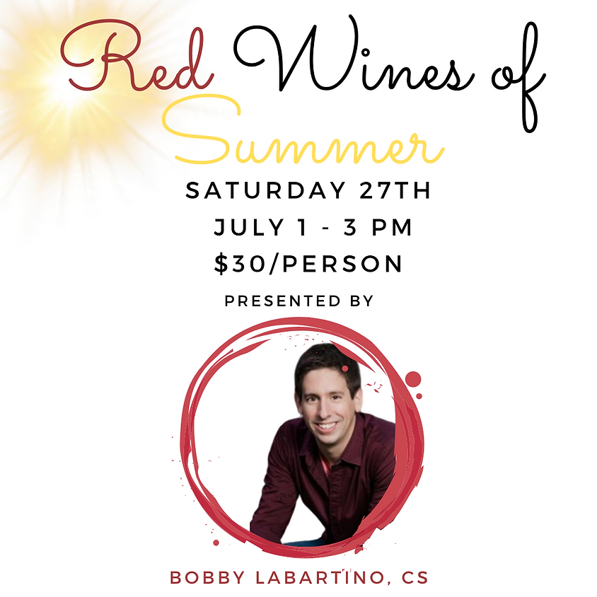 Red Wines of Summer