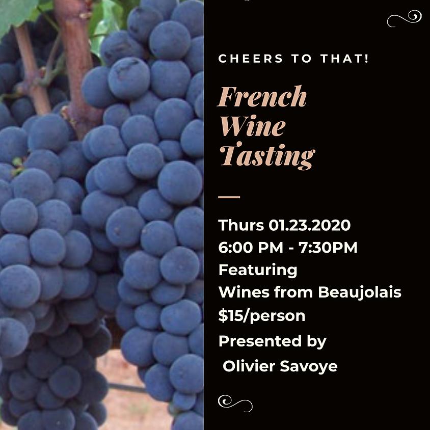 French Wine Tasting Beaujolais