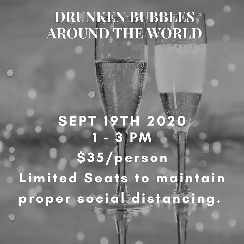 Drinking Bubbles from Around the World