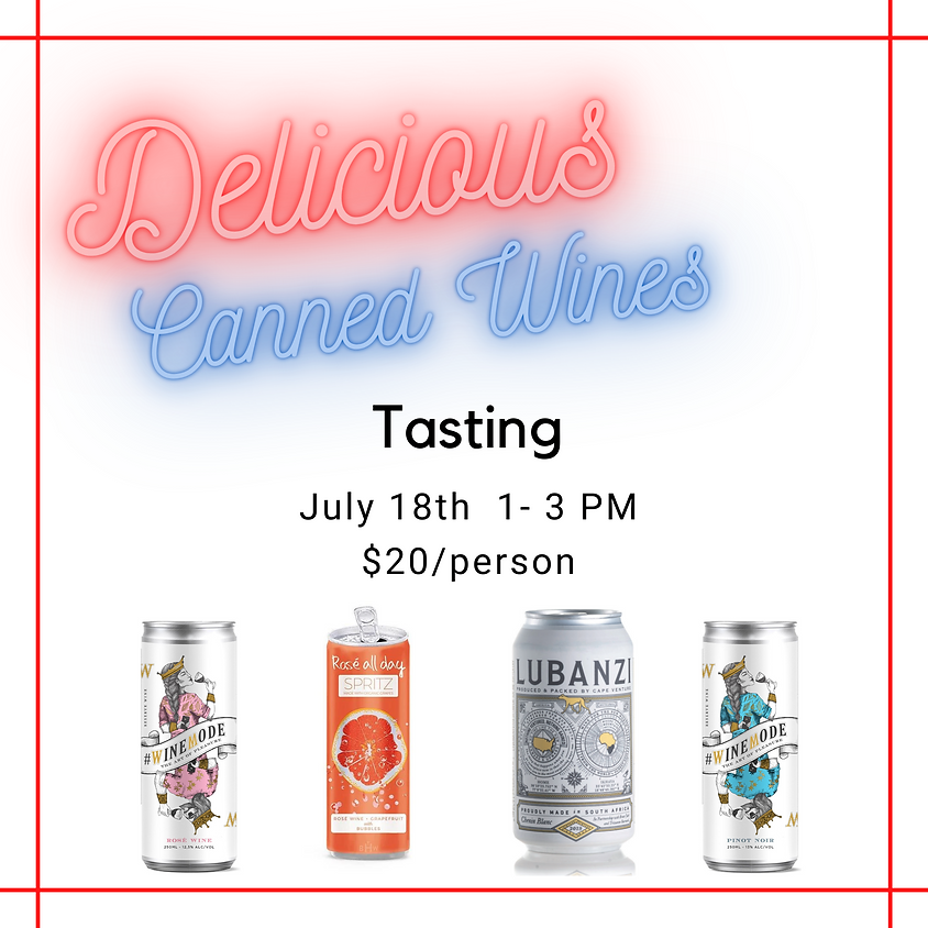 Summer Canned Wines