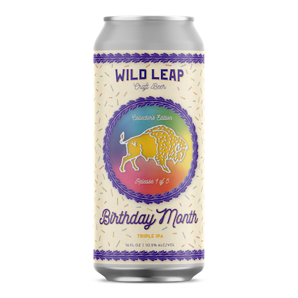 Wild Leap - Birthday Month - Tripel IPA