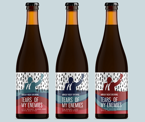 Monday Night Brewing - Tears of My Enemies - Rum Barrel Aged