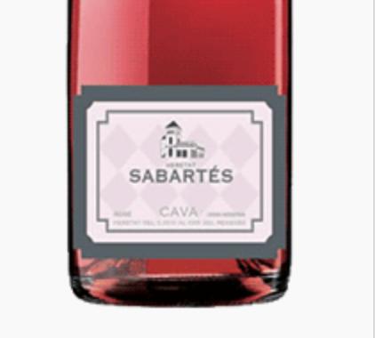 Sabartes Brut Rose Cava