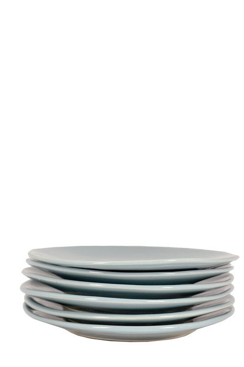 Side Plates (grey)by Mervyn Gers Ceramics