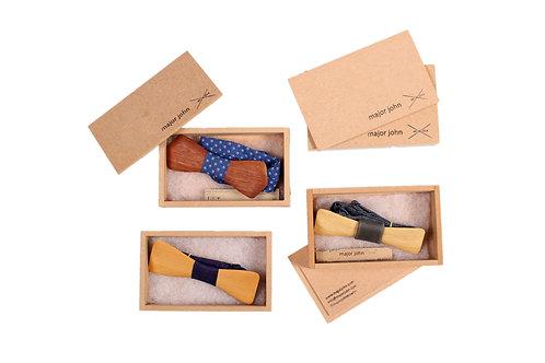 Wooden Bow Tie by Major John