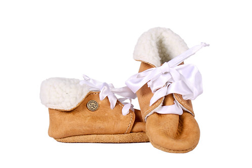 Baby Girl Leather Shoes by Theron&Theron