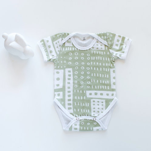Green Classic Onesie by BABA FISHEES