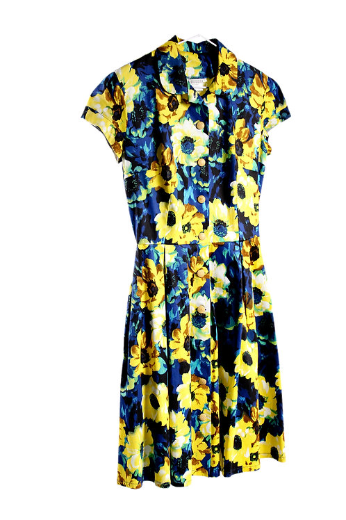 Sunflower Dress by Glare Modern Vintage