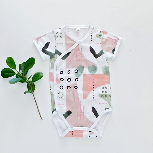 Watercolour Classic Onesie by BABA FISHEES