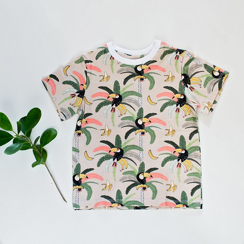 Toucan Bird T-Shirt by BABA FISHEES