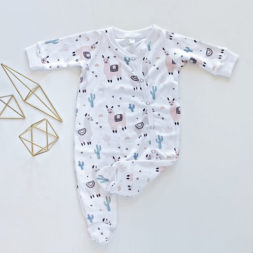 Lama Footy Romper by BABA FISHEES