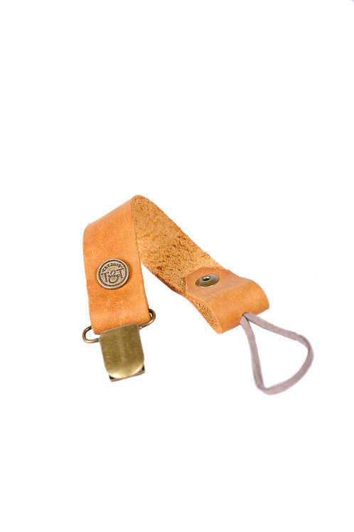 Leather Dummy Clip by Theron&Theron