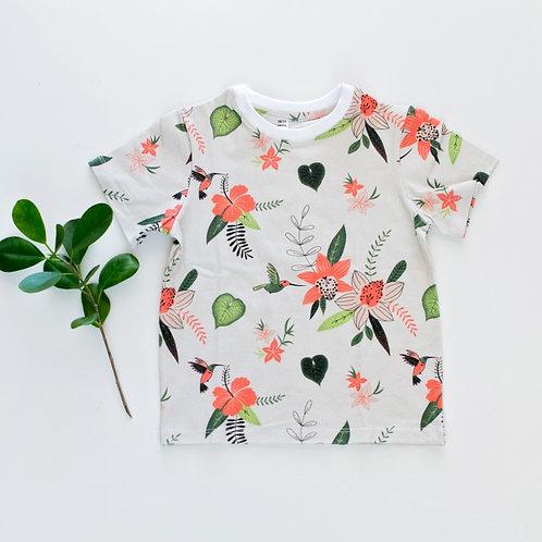 Hummingbird Unisex T-shirt by BABA FISHEES