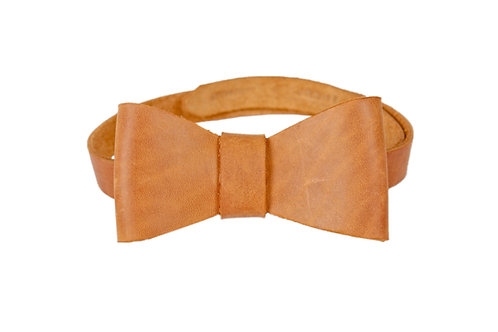 Leather Bowtie by Theron&Theron