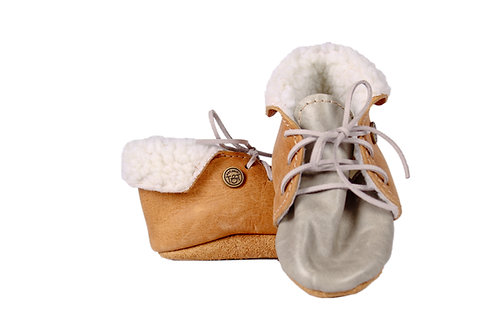 Baby boy Leather Shoes by Theron&Theron