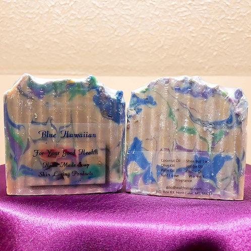 Blue Hawaiian Soap