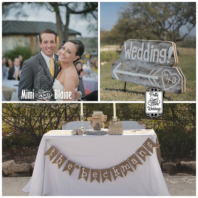 Pretty Sweet Weddings | Mimi and Blaine