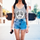 Thumbnail: Peace and Daisies tank top