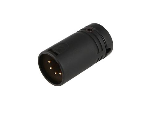 Low-Profile Right Angle XLR 5-pin Male