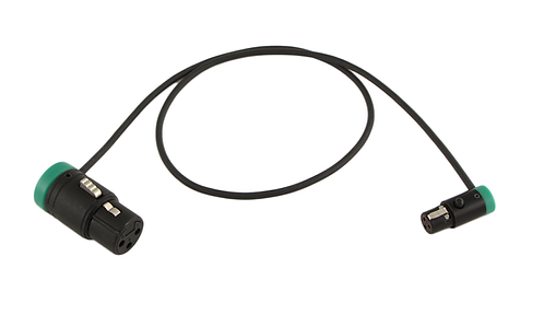 "24"" LPS Low-Profile LPXLR-3F to TA3F cable"