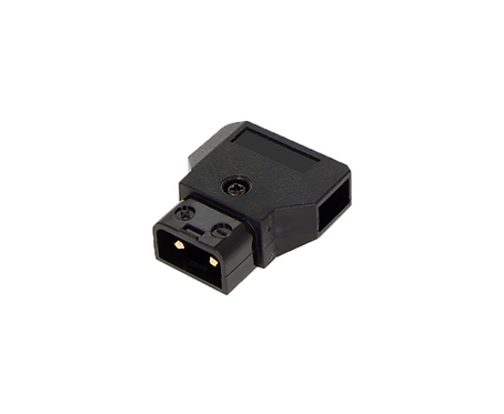 D-Tap Male, Cable-mount DC Connector