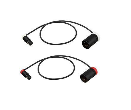Low-Profile Cable set for Rode Stereo VideoMic X