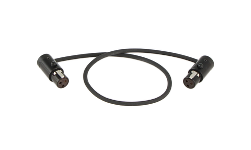 "12"" LPS Low-Profile TA3F to TA3F cable"