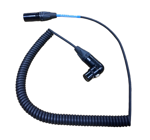 """CT-CBC-12 Coiled """"Boom to Mixer"""" Cable"""