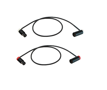 Low-Profile Cable set for Rode Stereo VideoMic X to Canon EOS C70