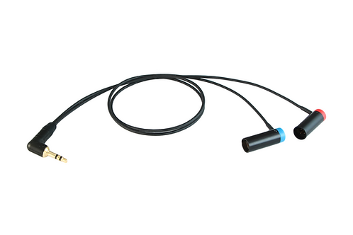 """RØDE Wireless GO II """"Y"""" to Canon C70 Low-Profile Cable"""