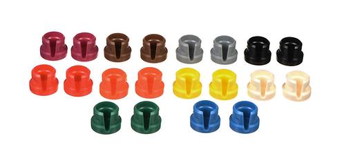 Color Caps SET for Low-Profile XLR Connectors