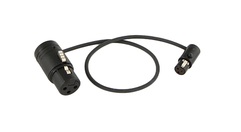 """12"""" LPS Low-Profile LPXLR-3F to TA3F cable"""