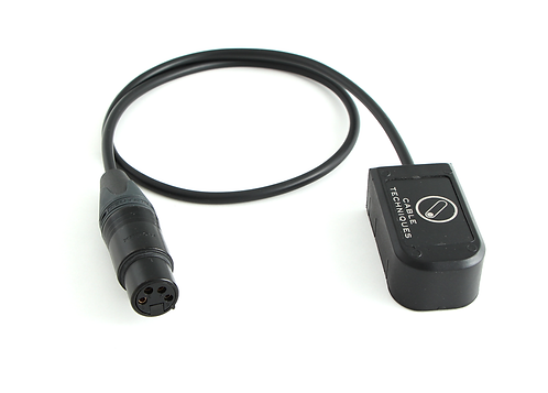 CT-SMARTCAP-X4, SMARTCAP to XLR 4-Pin Female