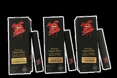Haute Sauce Disposable - Live Resin