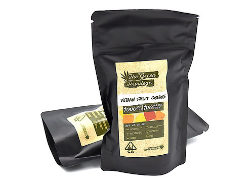 Vegan Fruit Chews - 1000mg