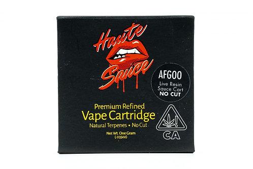 Haute Sauce -  Live Resin Cartridges (Strains)