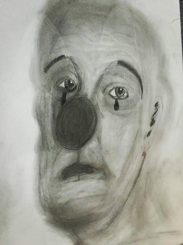 Sad Clown Study