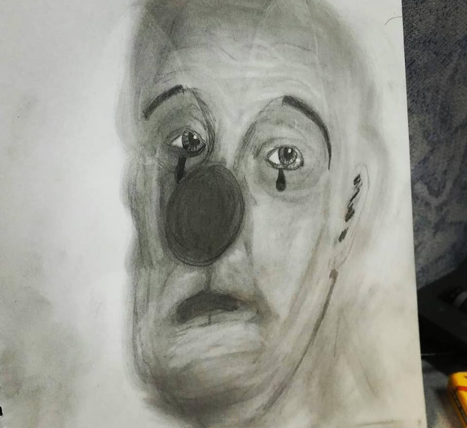 Sad Clown Study