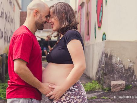 AMOR CRESCENDO | Ensaio Gestante em Joinville