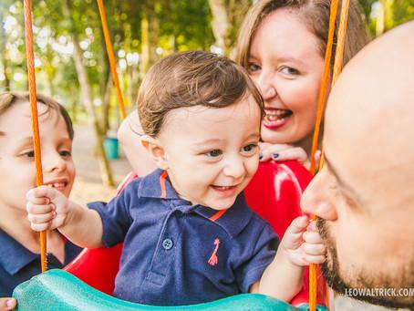 KARINE, MIRA, PEDRO E CÉSAR | Ensaio família em Joinville