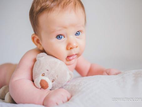 Fernando 2° mês | Ensaio Infantil em Joinville