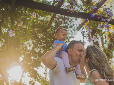 ANA, MARCIO E BEATRIZ | Ensaio Família em Joinville
