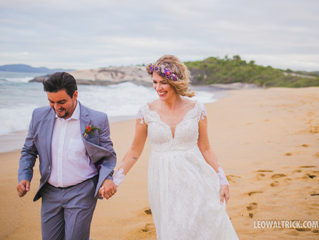 Aline e Micael | Mini Wedding em Itapema
