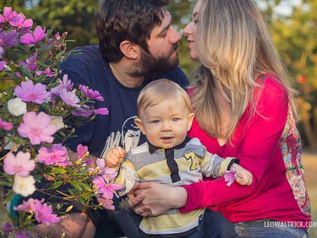 VINI NUM PARAÍSO DE AMOR | Ensaio Família em Araquari