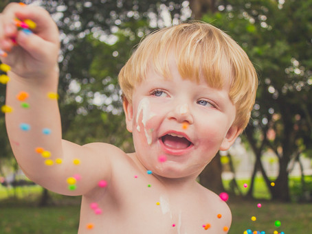 MIGUEL | Ensaio Infantil + Smash the Cake em Joinville