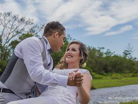 LUANE E CAIO | Mini Wedding na Estrada da Ilha