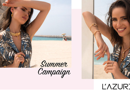 Summer with L'Azurde Jewellery
