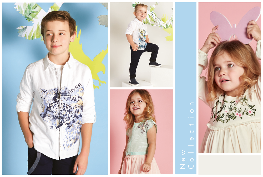 FG4 Kids Spring 2018 Collection Campaign