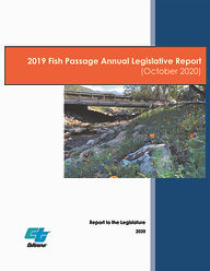 Final Fish Passage Annual Report 31Oct20